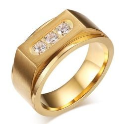 gold band for men