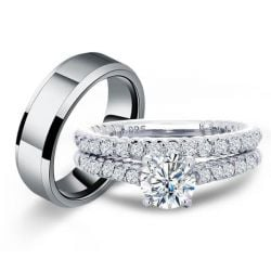 Cheap Womens Wedding Ring Sets