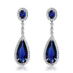 Sapphire Earrings For women