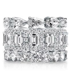 Womens Stackable Wedding Bands