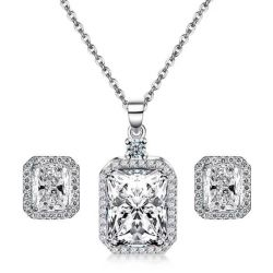 Pendant Necklace And Earring set