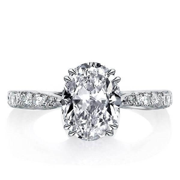 Oval Engagement Rings Are Back And Here To Stay!