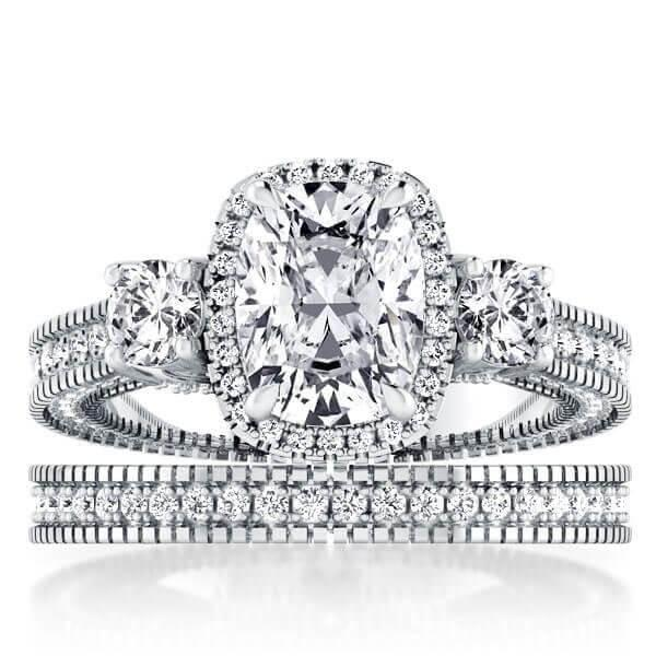 The History of Engagement and Wedding Ring Set