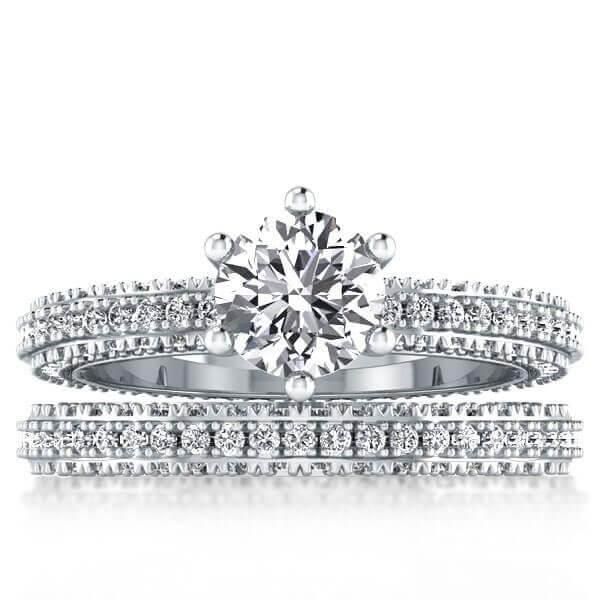 Symbol of Your Eternal Love: Eternity Wedding Set