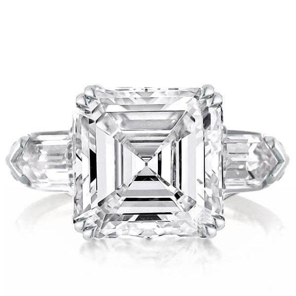 What is Asscher Cut Engagement Ring?
