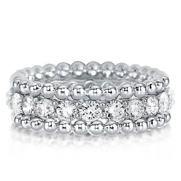Help guide to choosing silver wedding bands