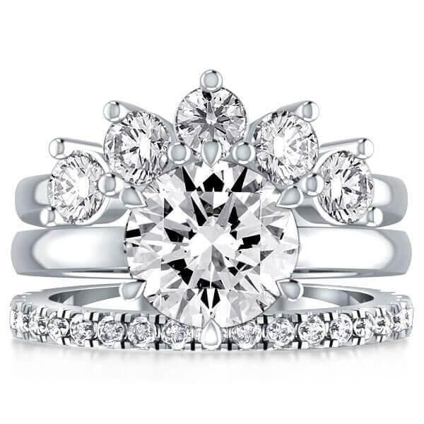 WHAT ARE WEDDING TRIO RING SETS?