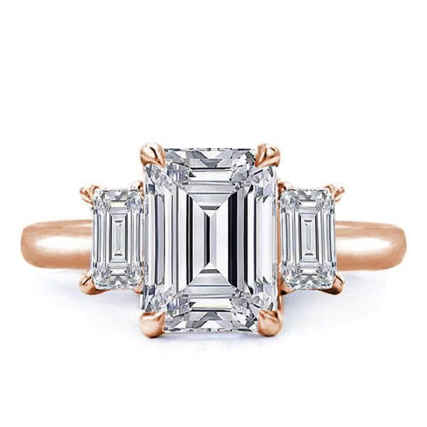 Rose Gold Engagement Rings That We Envy