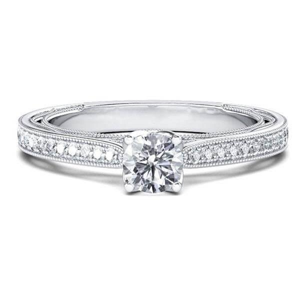 Simple Engagement Rings Silver That Are Still Beyond Stunning