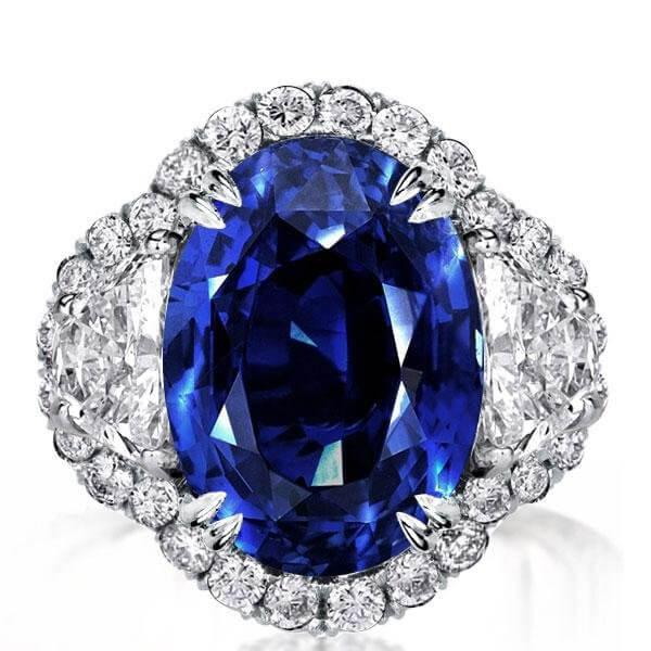 Blue sapphire engagement rings: : All you need to know!