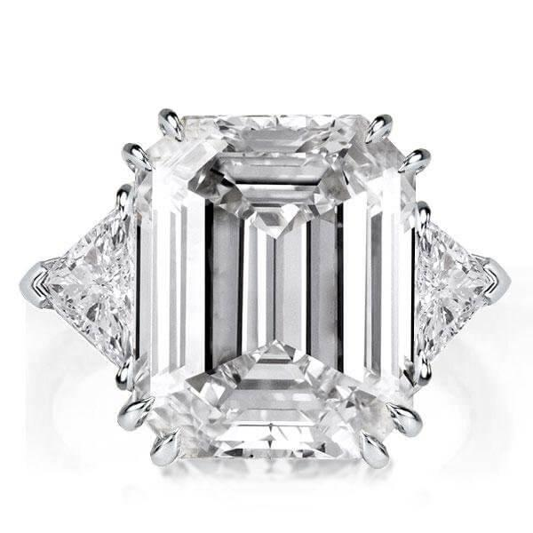 THE MEANING BEHIND THE THREE STONE EMERALD CUT RING