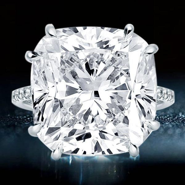 The Most Classic And Beautiful Cushion Cut Engagement Rings