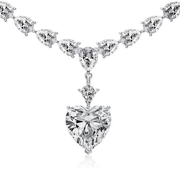 Why Choose White Gold Heart Necklace?