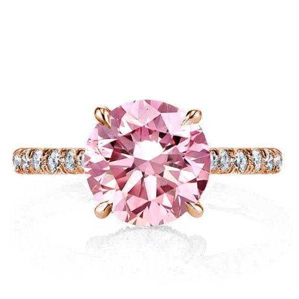 CHEAP ROSE GOLD ENGAGEMENT RINGS