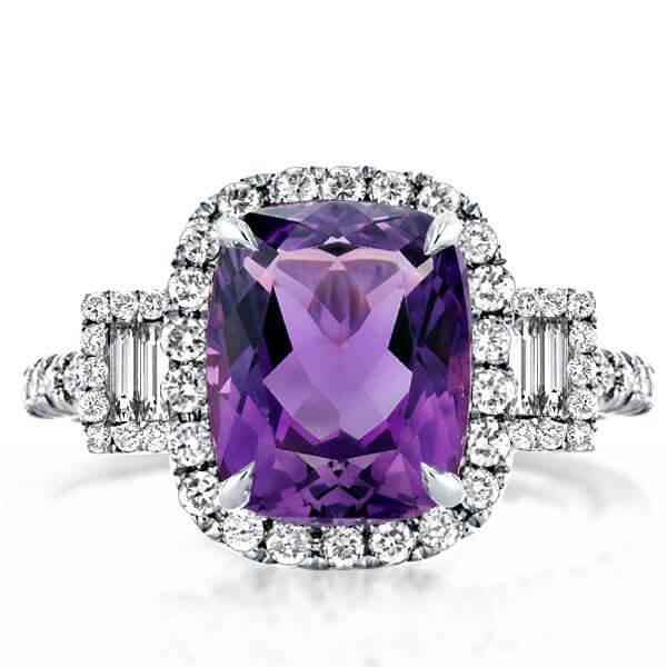 The Cushion Engagement Ring