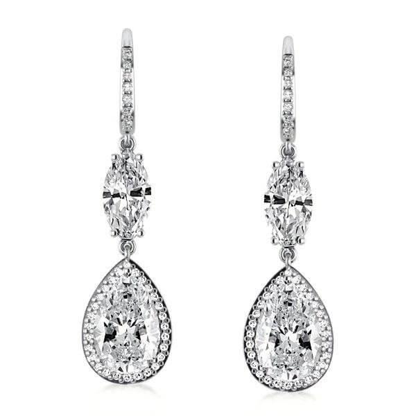 Silver Drop Earrings – Jewelry For Every Day