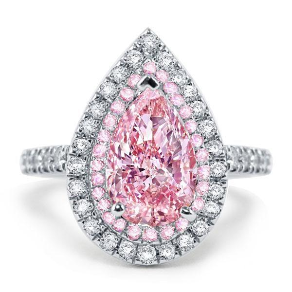 Do You Like These Pink Diamond Engagement Rings?