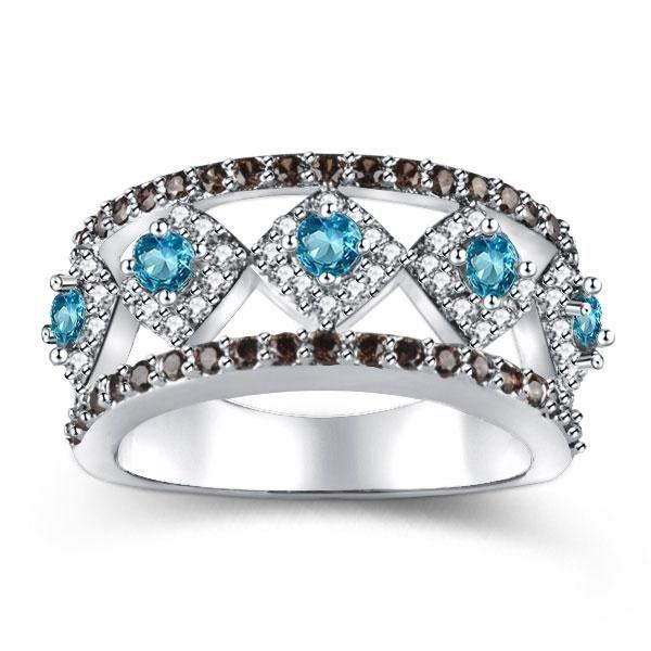 The Birthstone for March - Emerald Cut Aquamarine Engagement Ring