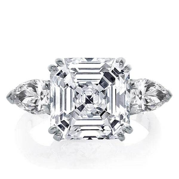 The Perfect Ring: Asscher Cut Engagement Rings