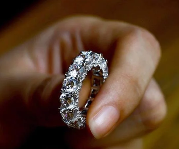 The Inspiration Behind Our Brilliant Eternity Round Wedding Band