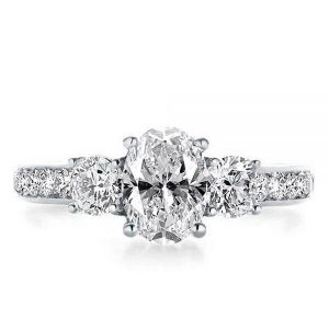 History Of The Oval Diamond Engagement Rings Italojewelry Blog